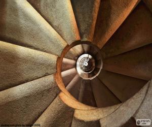 Puzle Točité schodiště