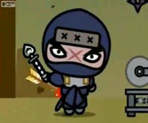 Puzle Tobe, hlavní zloduch od Pucca, který se vždy snaží pomstu na Garu