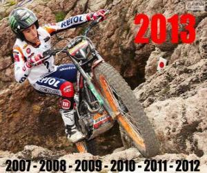 Puzle Toni Bou 2013 trial world champion