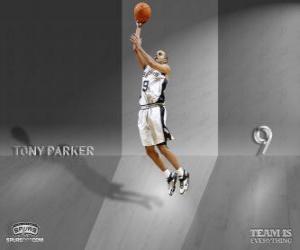 Puzle Tony Parker bude pro Slam Dunk