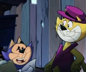 Puzle Top Cat a Benny míč