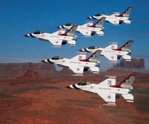 Puzle Top Gun letadla