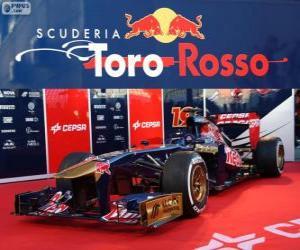 Puzle Toro Rosso STR8 - 2013 -