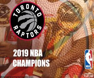 Puzle Toronto Raptors, 2019 NBA mistry