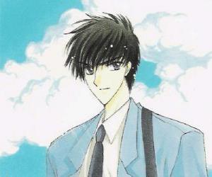 Puzle Toya Kinomoto je Sakura starší bratr