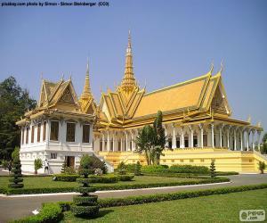 Puzle Trůnní sál, Kambodža