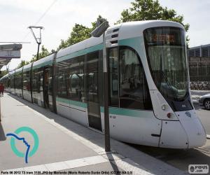 Puzle Tramvaj v Paříži