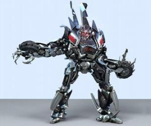 Puzle Transformátor, inteligentní robot. Transformátory