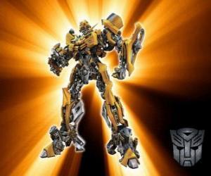 Puzle Transformers Bumblebee, Autoboti