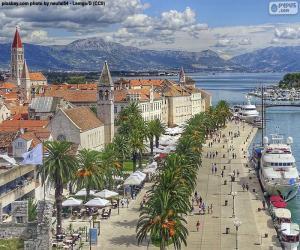 Puzle Trogir, Chorvatsko