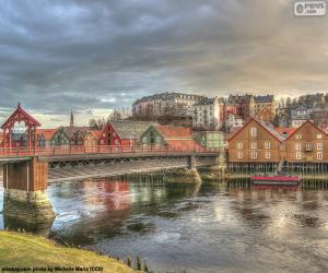 Puzle Trondheim, Norsko