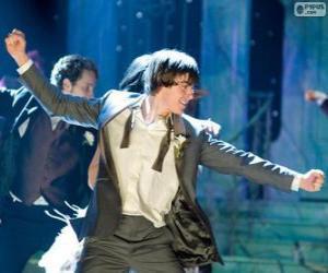 Puzle Troy Bolton tanec