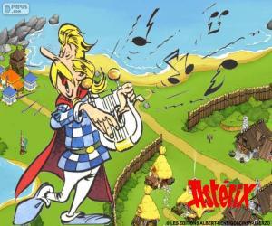Puzle Trubadix zpívá