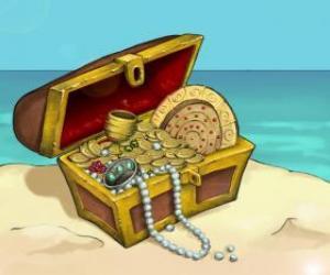Puzle Truhla pokladů