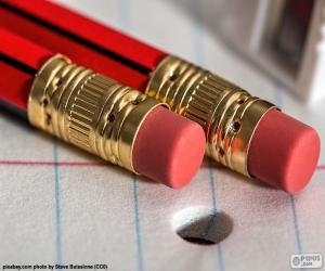 Puzle Tužky s gumou