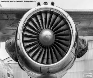 Puzle Turbinového letadla