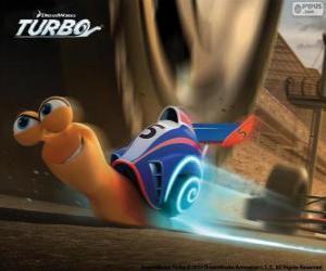 Puzle Turbo, nejrychlejší hlemýžď světa