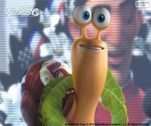 Puzle Turbo, závodní šnek