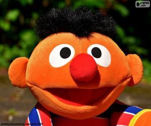 Puzle Tvář Ernie