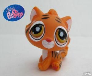 Puzle Tygr z nejmenší PetShop