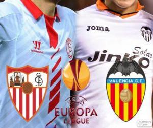 Puzle UEFA Europa League 2013-14 semifinále, Sevilla - Valencia