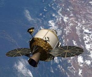 Puzle Umělá družice, Orion