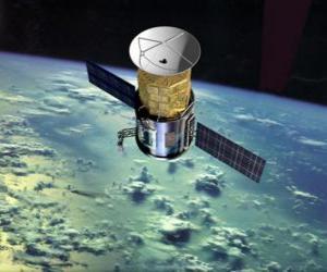 Puzle Umělá družice