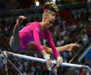 Puzle Umělecká gymnastika - High bar