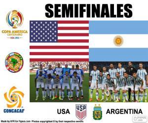 Puzle USA-ARG, Copa America 2016