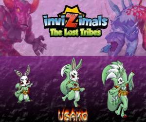 Puzle Usako, nejnovější vývoj. Invizimals The Lost Tribes. Tajemný tanečníce je krásná spy invizimal