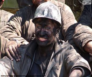 Puzle Usmívající se horník