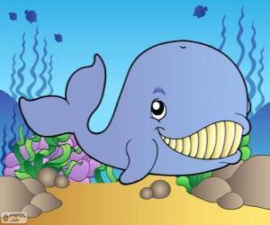 Puzle Usmíval se velryba