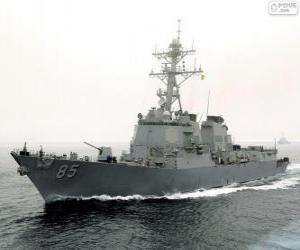 Puzle Válečná loď, torpédoborec