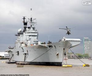 Puzle Válečná loď