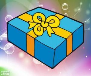Puzle Vánoční Dárková krabice