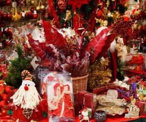 Puzle Vánoční ozdoby