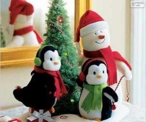 Puzle Vánoční panenky