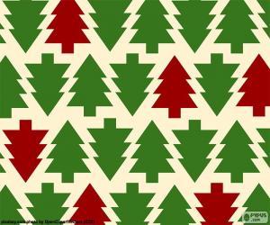 Puzle Vánoční pozadí
