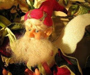 Puzle Vánoční skřítek