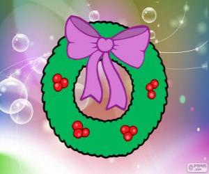 Puzle Vánoční věnec