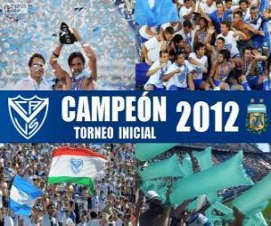 Puzle Vélez Sarsfield, mistr Torneo Inicial 2012, Argentina