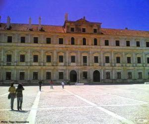 Puzle Vévodský palác Vila Viçosa, Evora, Portugalsko