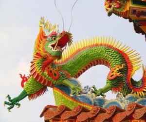 Puzle Východní drak