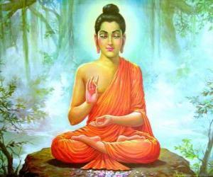 Puzle Výkres Gautama Buddha