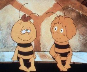 Puzle Včelka Mája a její přítel Willi