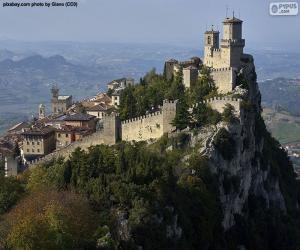 Puzle Věž Guaita, San Marino