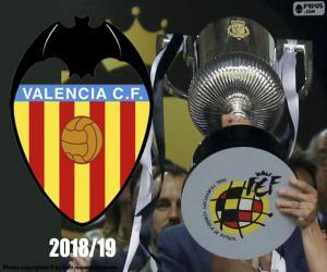 Puzle Valencia CF, Copa del Rey 2018-19