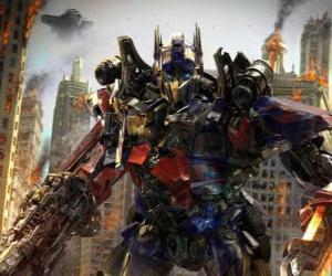 Puzle Velká robot Transformer Disney