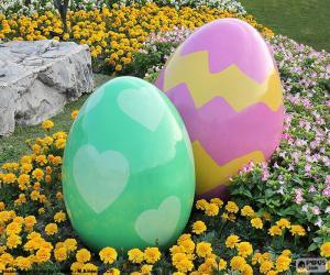 Puzle Velká velikonoční vejce
