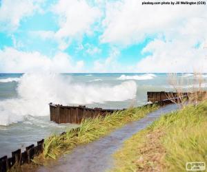 Puzle Velké vlny